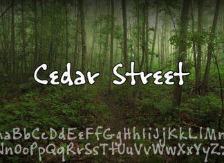 Cedar Street Font