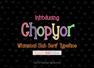 Chopyor Font