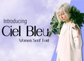 Ciel Bleu Font