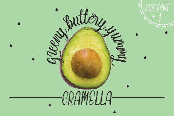 Cramella Duo Font