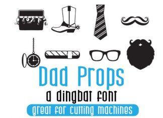 Dad Props Font