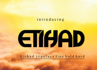 Etihad Font