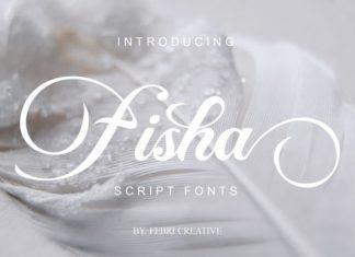 Fisha Script font