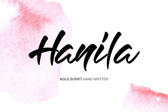 Hanila Font
