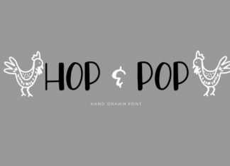 Hop and Pop Font