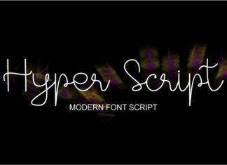 Hyper Script Font