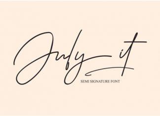 July It Font