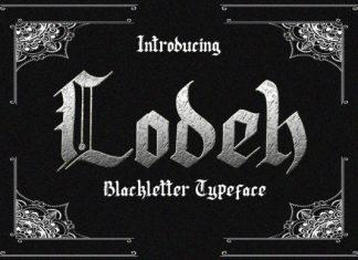 Lodeh Font