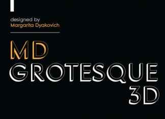 MD Grotesque 3D