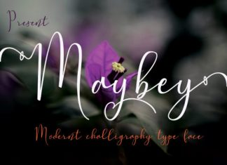 Maybey Font