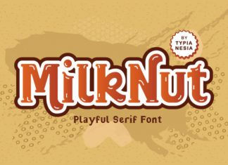 Milk Nut Font