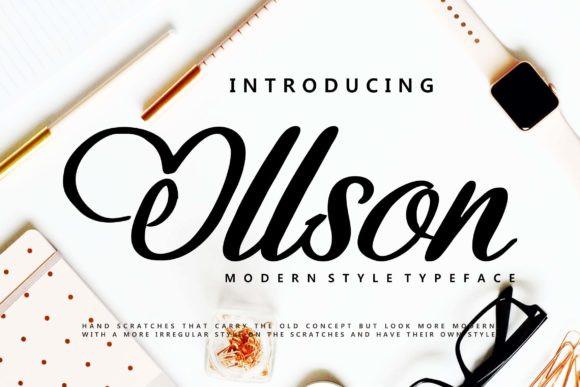 Ollson Font