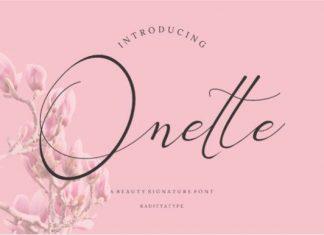 Onette Font