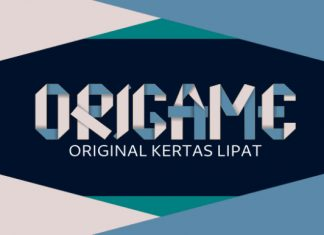 Origame font