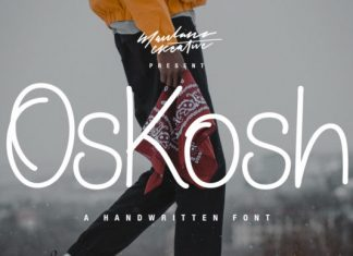 Oskosh Font