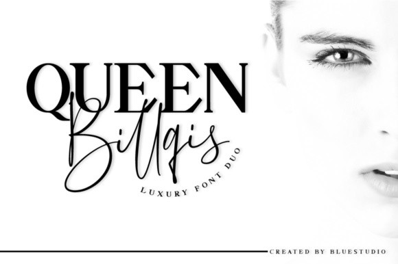 Queen Billqis Duo Font