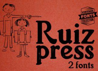 Ruiz Duo Font
