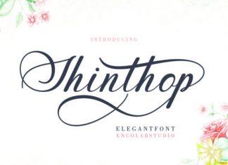 Shinthop Font