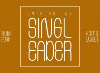 Singleader Font