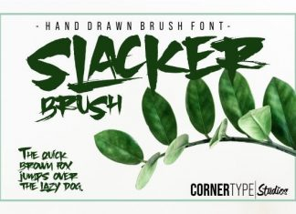 Slacker font