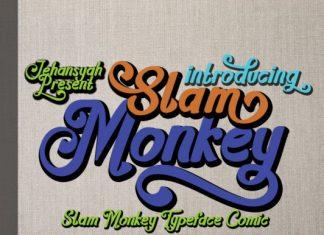 Slam Monkey Font