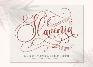 Slovenia Font