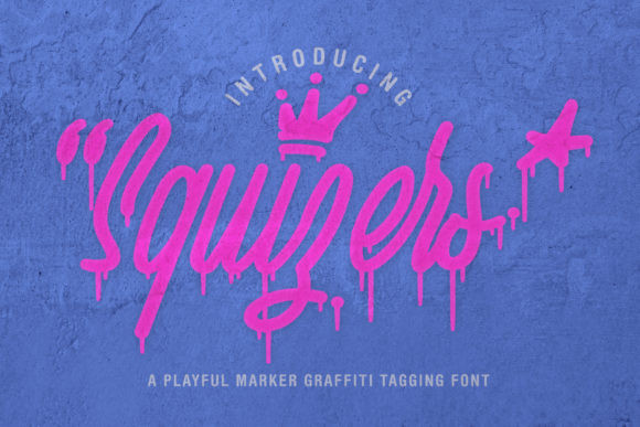 Squizers Font