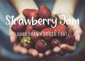 Strawberry Jam Font
