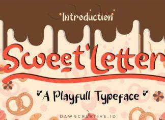 Sweet Letter Font