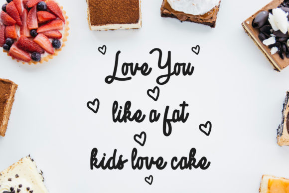 Sweetness Font
