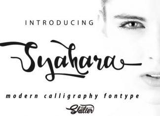 Syahara Font