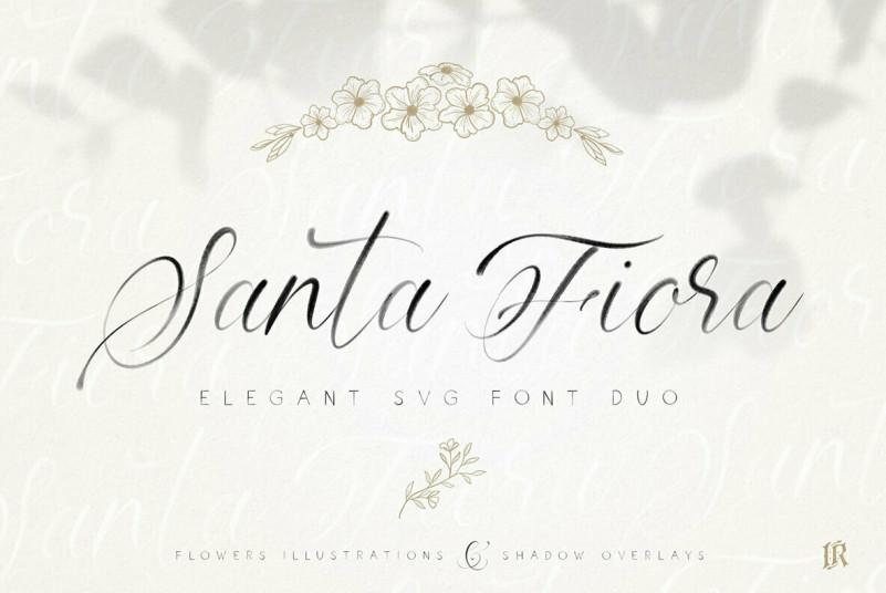 Santa Fiora Font Family