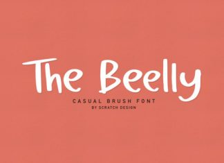 The Beelly Font