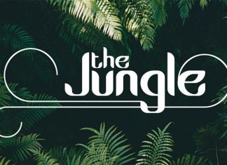 The Jungle Font