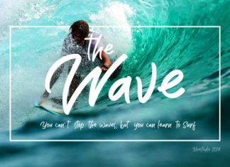 The Wave Font