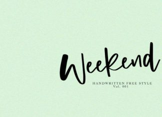 Weekend Font