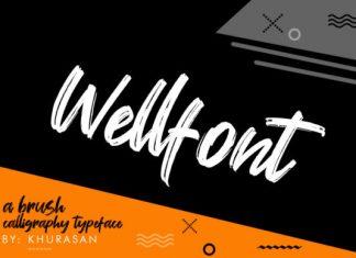 Wellfont Font