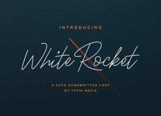 White Rocket Font