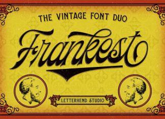 Frankest - The Vintage Font