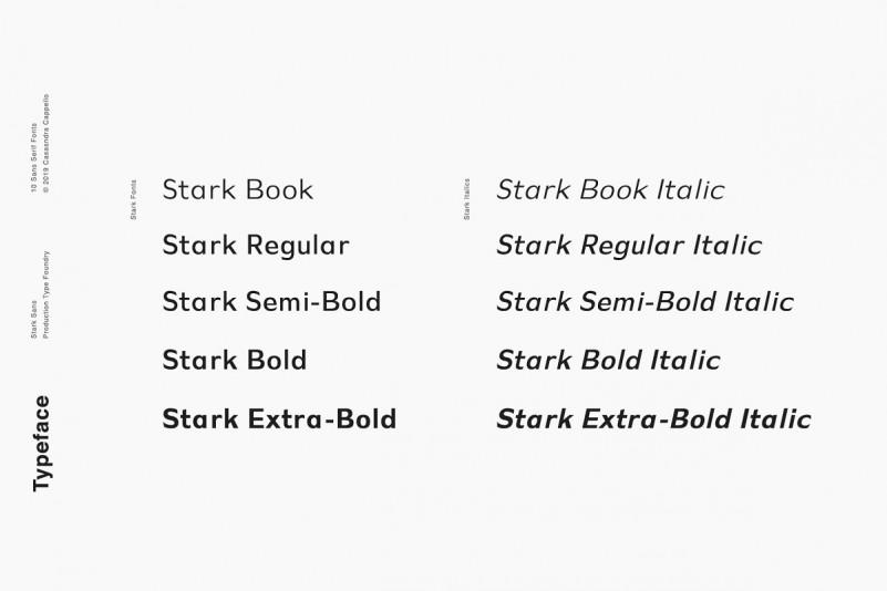 Stark - A Modern Sans Serif - iFonts xyz