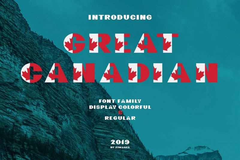 GreatCanadian-font family
