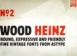 Wood Heinz Font