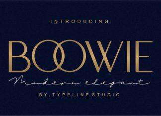 Boowie || Modern minimalist elegant.