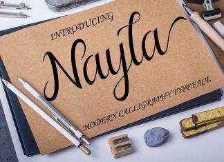 Nayla Script Font