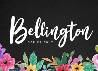Bellington Script Font