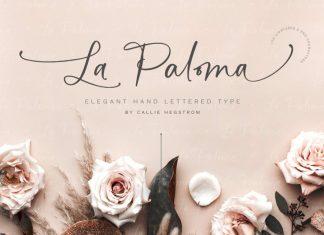 La Paloma Script + Catchwords