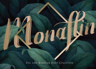 Monaflin Regular Font