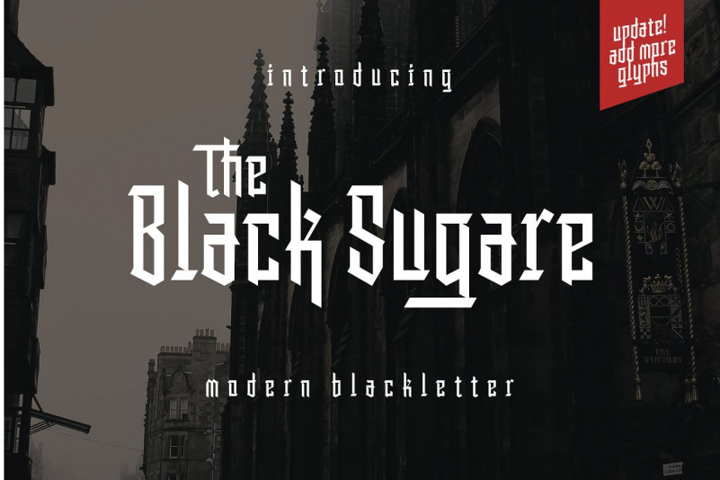 The Black Sugare Font