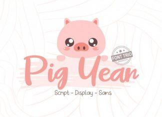 Pig Year 3 Font
