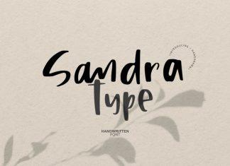 Sandra Type | Handwritten Font
